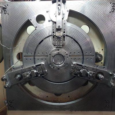 Maquina transfer conformadora alambre